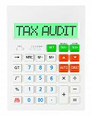 Calculator With Tax Audit
