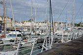 Loire Atlantique, Sailing Ships  In Le Pouliguen Port