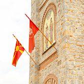 picture of macedonia  - Saint Climent and Panteleimon Church in Ohrid Macedonia - JPG