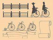 Designer of retro bicycles