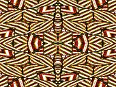 Colorful Tribal Geometric Pattern