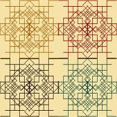 Seamless Graphic Symmetric Patterns