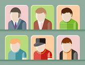 Man avatars characters