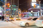 Dundas Square Intersection In Toronto,canada