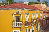 Colourful Buildings of Cartagena de Indias