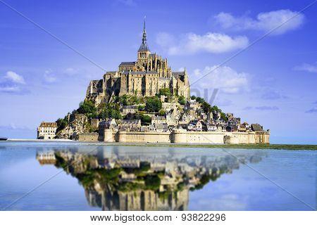 Mont saint Michel - Normandy - France, Mont saint Michel - Normandy - France