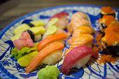 foto of sushi  - Mix Sushi - JPG