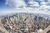 picture of high-rise  - An image of the high rise buildings of new york - JPG