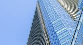 image of high-rise  - The high rise building and sky in downtown - JPG