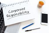 stock photo of responsible  - Corporate Responsibility  - JPG