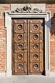 stock photo of chopin  - Old stylish door - JPG