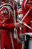 Trommler In Blaskapelle
