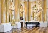 picture of chopin  - Ball room in Royal Castle in Warsaw - JPG