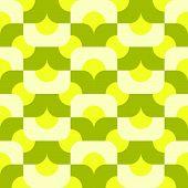 seamless mod pattern in citrus