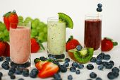 Smoothies With Fresh Fruits