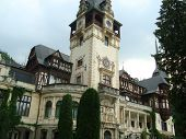 Peles Castle and Museum from Sinaia, Romania poster