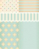 Vector background in style shabby chic