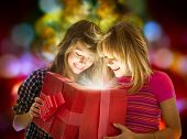stock photo of christmas-present  - Christmas Gift - JPG