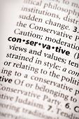 Dictionary Series - Politics: Conservative