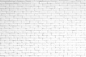White Brick Wall Texture Background. Surface Texture Masonry Bright Cleaned Brickwork. poster