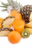 Frutas e sumo Multivitamínico