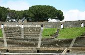 Old Arena In Pompei