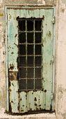 Rusty Door At Alcatraz