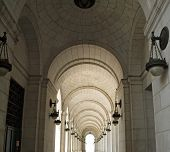 Archways At Union Station In Washington Dc
