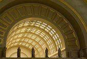 Interior Archways At Union Station In Washington Dc