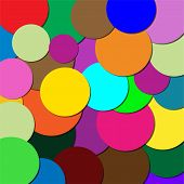 Circles of different colors