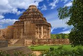 stock photo of surya  - Sun Temple - JPG
