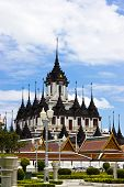 Loha Prasat Metal Palace In Bangkok