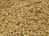 Wood chippings abstract background