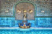 Beautifully Statue In The Famous Gellert Bath