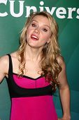 LAS VEGAS - APR 22:  Kate McKinnon at the NBCUniversal Summer Pres Day 2013 at the Huntington Langha