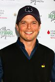 LOS ANGELES - APR 15:  Scott Wolf at the Jack Wagner Celebrity Golf Tournament benefitting the Leuke