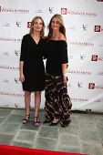 LOS ANGELES - APR 23:  Cindy Marshall, Jill Marshall arrives at the 2013 Genii Awards presented by t