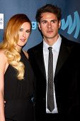 LOS ANGELES - APR 20:  Rumer WIllis, Jayson Blair arrives at the 2013 GLAAD Media Awards at the JW M