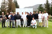 LOS ANGELES - APR 15:  Jack Wagner and Celebrity Golfers at the JJack Wagner Celebrity Golf Tourname