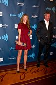 eLOS ANGELES - APR 20:  Rebecca Gayheart arrives at the 2013 GLAAD Media Awards at the JW Marriott o