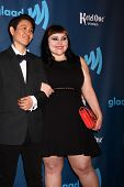 LOS ANGELES - APR 20:  Beth Ditto arrives at the 2013 GLAAD Media Awards at the JW Marriott on April