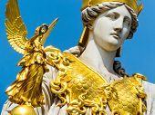pic of goddess  - the parliament in vienna - JPG