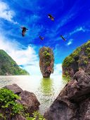 foto of james bond island  - James Bond island Thailand travel destination - JPG