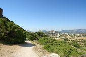 foto of old spanish trail  - Path near Porto Pollensa a good walking trail in Mallorca - JPG