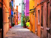 Colorful Italian Street