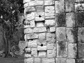 Chichen Itza Mayan Ruins Chac Masks