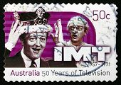 Postage Stamp Australia 2006 In Melbourne Tonight, Television Sh
