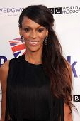 LOS ANGELES - APR 23:  Judith Shekoni arrives at the 7th Annual BritWeek Festival
