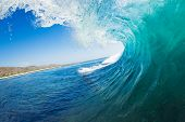 Tropische Blue Ocean Wave