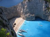 Navagio In Greece